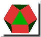 Модель из бумаги кубооктаэдр