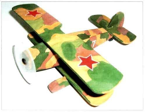 Самолет из дерева своими руками