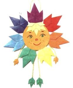 Оригами трилистника