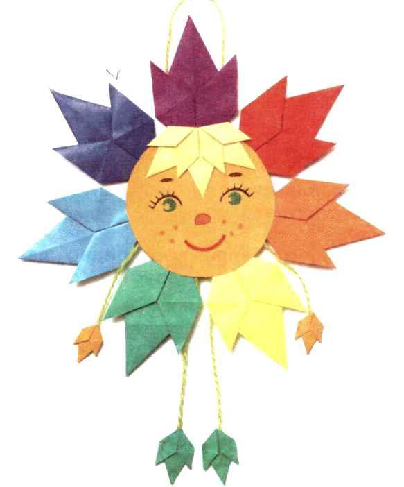 Солнце своими руками схема 524