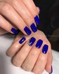 Синий цвет лака
